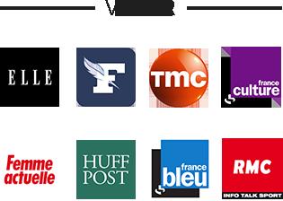 Vu sur différents médias