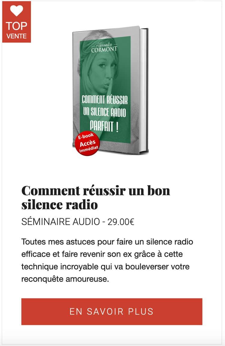 Comment réussir un bon silence radio